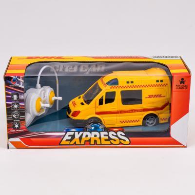 Микроавтобус почтовой службы DHL на радио управлен, 368-7