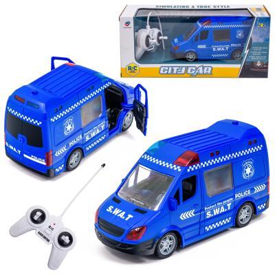 Микроавтобус военный спецподраздиления, радио упр