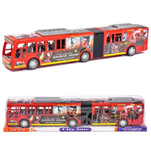 Автобус инерционный под блистером, 899-76