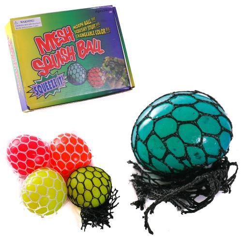 Мяч лизун 4цвета,размер 4,5см, 25,5*19,5*6см, PR190503