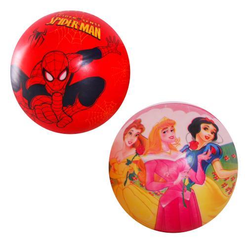 Мяч резиновый ассорти, 25см, C12753