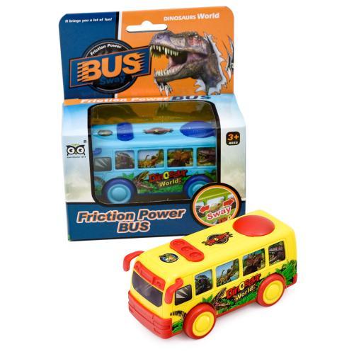 Автобус, инерционный, 555-1-96