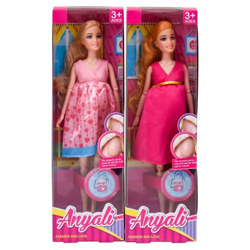 Кукла, беременная, 1111-1-2-3-4