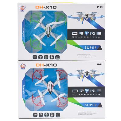Квадрокоптер р/у2,4G,аккум,свет,запас. лоп. USB
