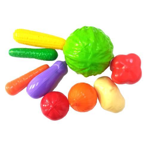 Набор овощей, 9 элементов, Техно 5323