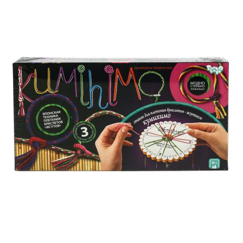 """Набор для плетения браслетов """"KUMIHIMO"""", ДТ-ОО-09-06"""