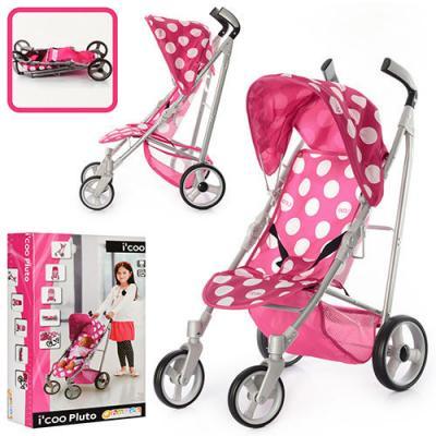 Коляска D-89044 (4шт) для куклы, прогулочная, колеса