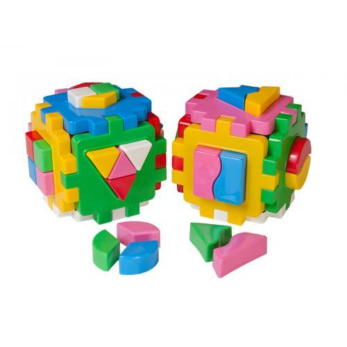 """Куб """"Розумний малюк Логіка"""" Комбі, Техно 2476"""