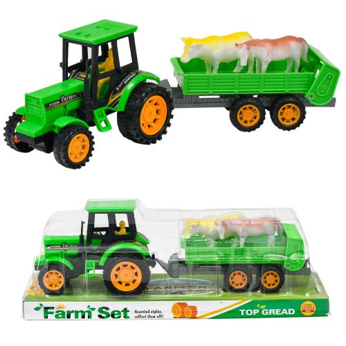 Трактор с прицепом, 0502-0505