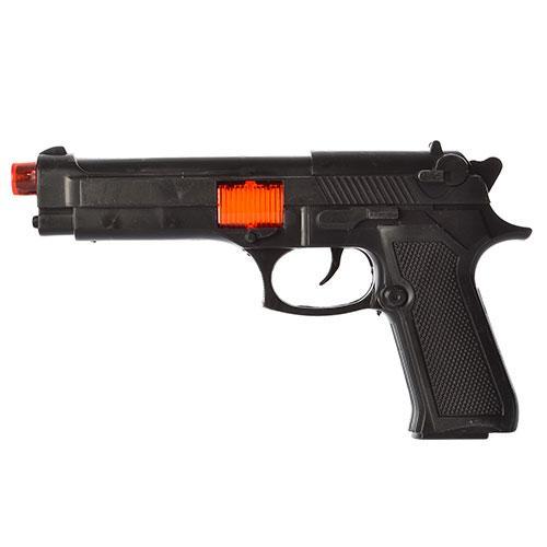 Пистолет A13-2 (432шт) 23см, звук(трещотка), в кул, A13-2