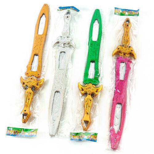 Детский меч в пакете, 4 вида, 238, 238-384