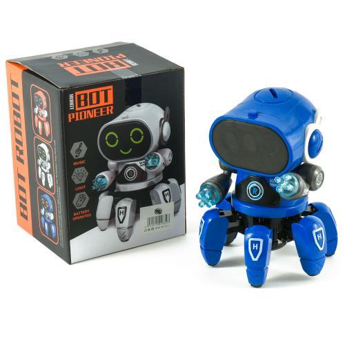 Робот-Пятиножка, на батарейках, в коробке, звук, с, 4079-11-142
