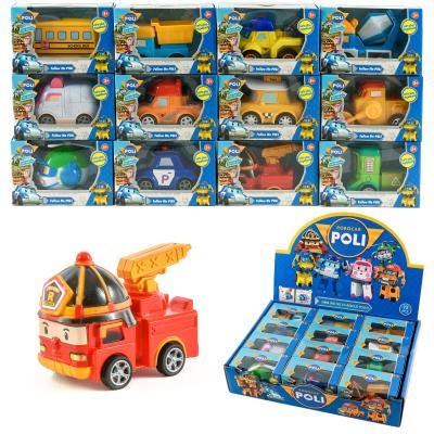 "Машинки ""Poli Robocar"", в коробке P8"