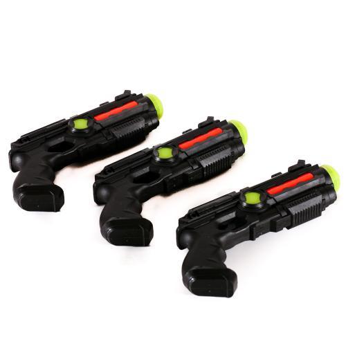 Пистолет 19см, 2цвета, в кульке, 19-10-2,5см, 016A-1