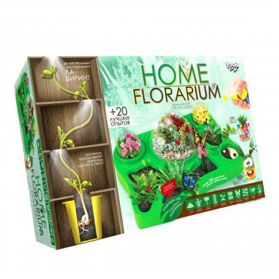 """Набор для выращивания растений """"HOME FLORARIUM""""РУС"""