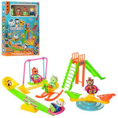 Набор игровой ZY-708 (48шт) OC, детская площадка