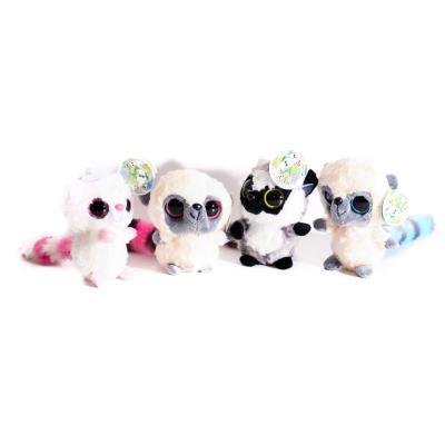 Мягкая игрушка животное, размер маленький, присоска