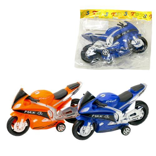 Мотоцикл, инерционный, 968-1-2