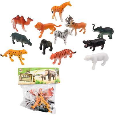 Животные LT01-1 (120шт) 12шт, от6см, в кульке, 17, LT01-1
