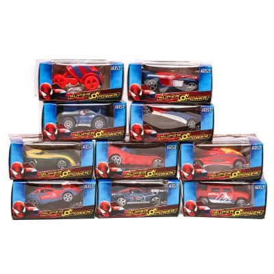 "Набір машин метал-пластик "" Spiderman"" (коробка 24"