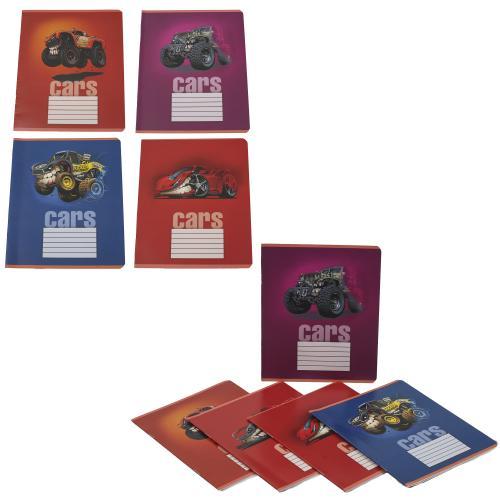 Тетрадь в клетку, 12 листов (цена за упаковку), TE51118