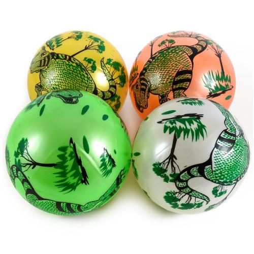 Мяч резиновый 22cm, 60 грамм, 4 цв, YW1881