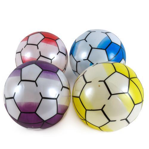 Мяч резиновый 22cm, 60 грамм, 5 цве, YW1886