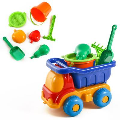 Детский набор: машинка с песочным набором