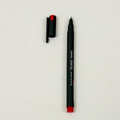 Ручка Gentel, гелевая, красная (цена за упаковку), AH-8620-3
