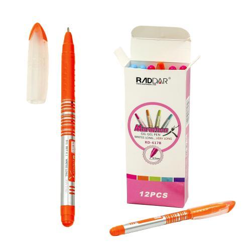 Ручка Marathon, масляная, красная (цена за упаковку), AH-RD-617B2