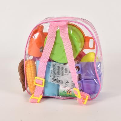 Набор детской посуды в рюкзаке, 9952