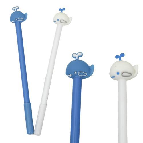 """Ручка """"Кит"""", шариковая, синяя, 12 шт. (цена за упаковку), HMZ-6011"""