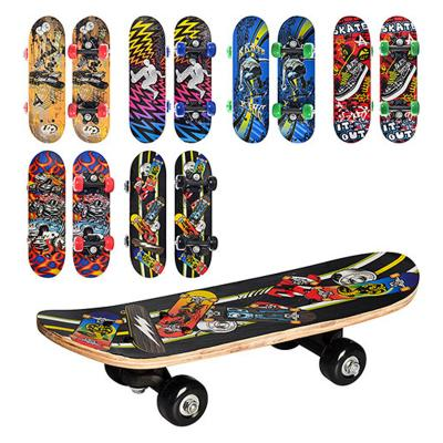 Скейт 6 видов, ПВХ колеса-45мм.