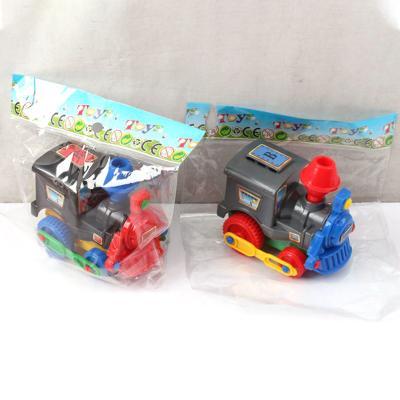 Паровоз 2 цвета, в пакете 1