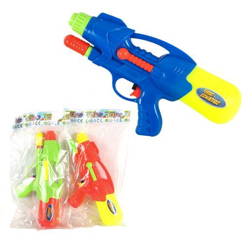 Водный пистолет с насосом, в пак, 2823-13