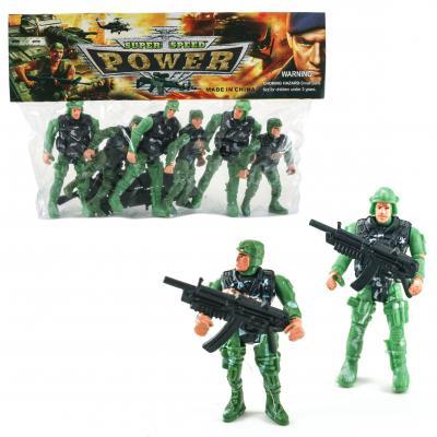 Военный набор солдаты, в пакете 19