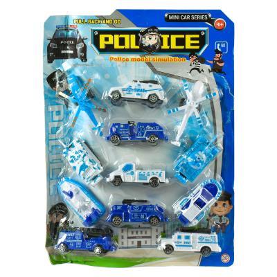 Набор полицейского транспорта
