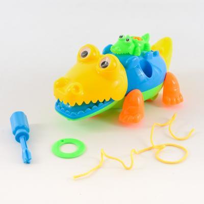 Крокодил-конструктор, в пакете 4064-12\YH832, 4064-12-YH832