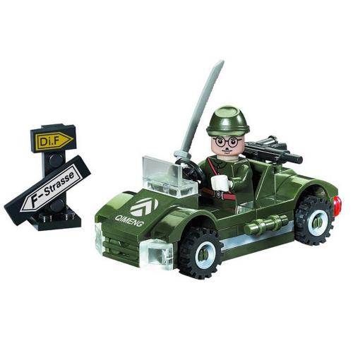 Конструктор BRICK военная машинка, 51 дет, 803 BRICK