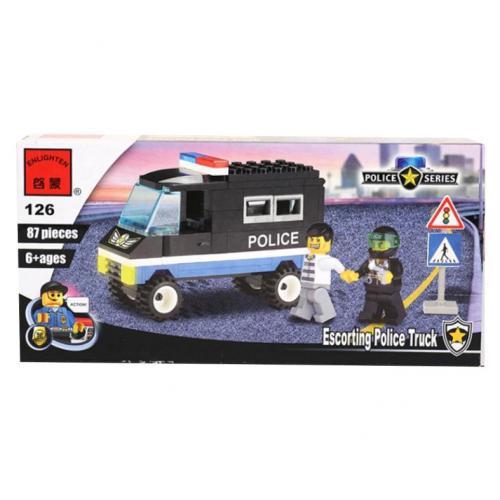 Конструктор BRICK 457799/126 (80шт) Полицейская се, 126 BRICK