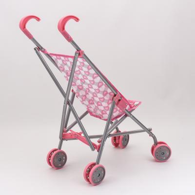 Коляска для кукол, железная + зонтик, 9302 W