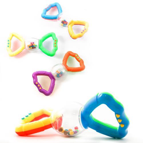 Погремушка 880 (360шт) 2 цвета, в кульке, 14,5-7-3, 880