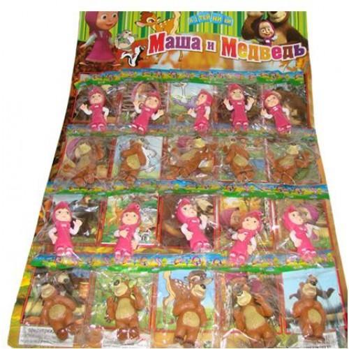 Кукла в кульке, 20 шт на листе, 59-38см, MM H 12004