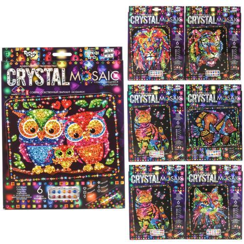 "Набор для творчества ""Crystal mosaic"", в кор. 30*2, ДТ-ОО-09-08"
