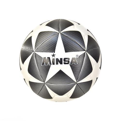 Мяч футбол CE-102506 (30шт) PU 380 грамм, сетка, CE-102506