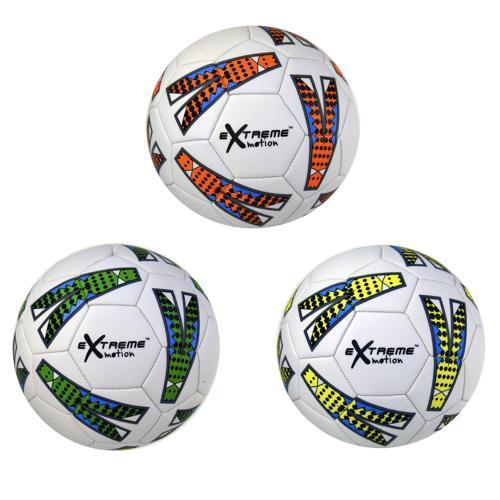 Мяч футбол C24463 (60шт) PU, 3 цвета, 320 грамм, C24463