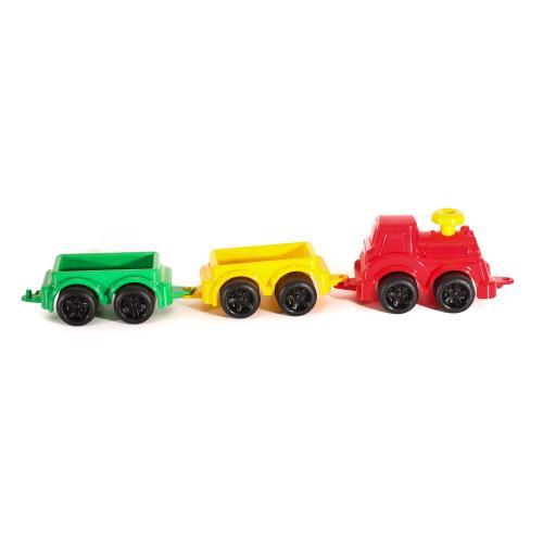 """Іграшка """"Паровоз з вагонами Максик ТехноК"""", Техно 2339"""