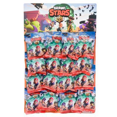Фигурки героев BRAWL STARS, 16 шт на планшете, LY1558