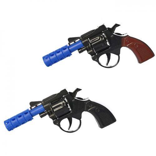 Пистолет 828-6А-7А (864шт) 14-7,5-2см, 2 цвета, в, 828-6А-7А