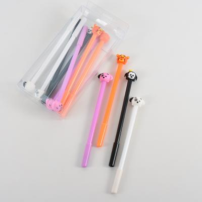 Ручка, синяя, тонкая паста, HMZ-6012